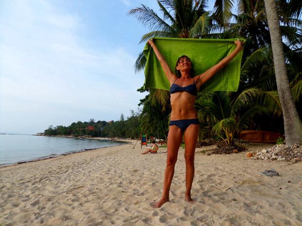Хороший пляж на Пангане