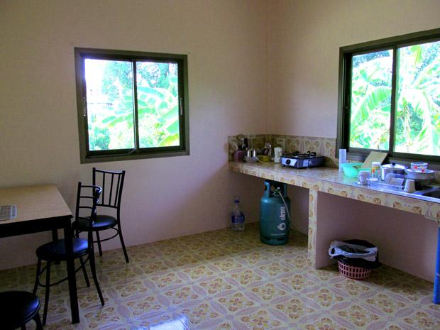 Наша просторная кухня