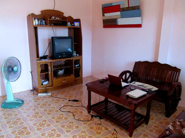 Гостиная в нашем доме на Ко Панган
