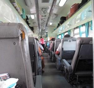вагон в тайском поезде