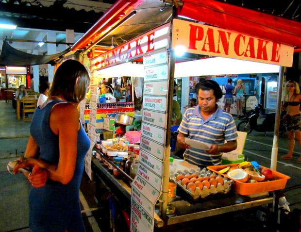 банановые блинчики на Пангане