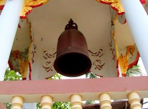 колокол в тайском храме