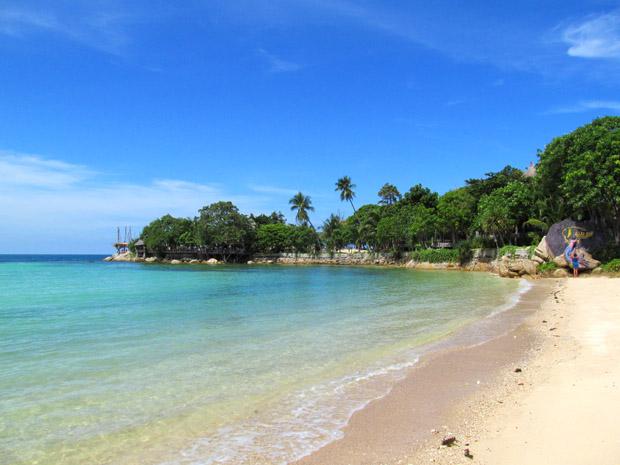 море у секретного пляжа