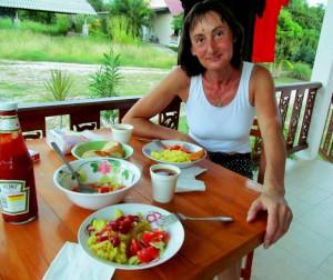 еда на Пангане