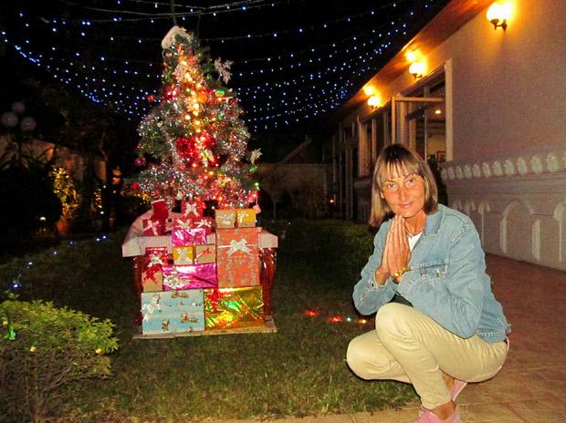 Рождество в Лаосе