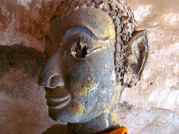 Будда с выколотым глазом
