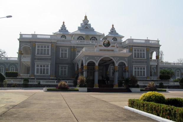 президентский дворец в Лаосе
