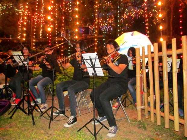 музыканты в Као Ванг