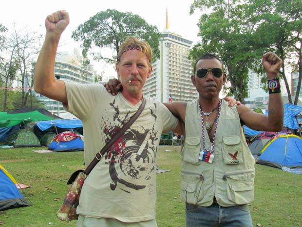 протест в Бангкоке