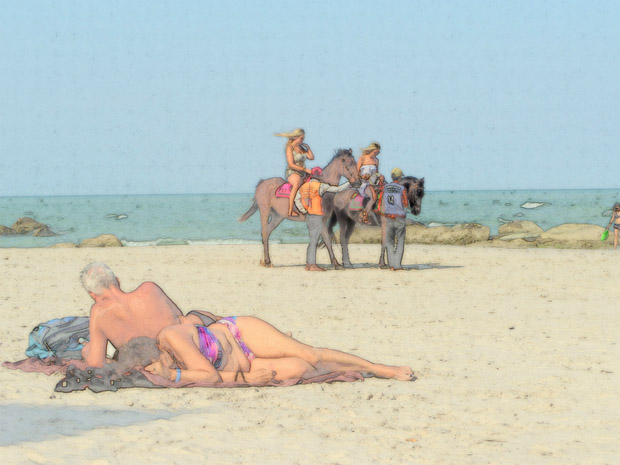 пляж Хупа Хина