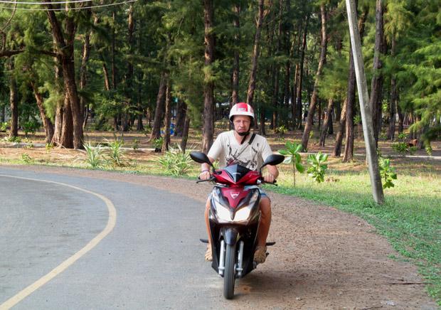 мотобайк в Хуа Хине