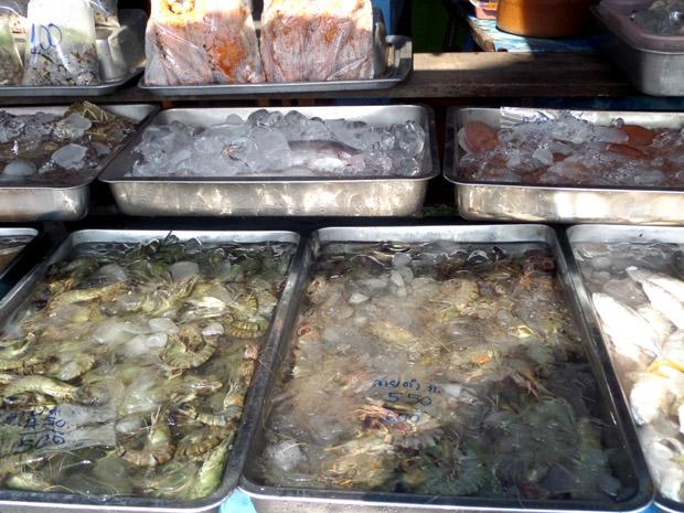 морепродукты в Хуа Хине