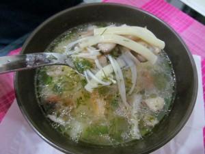тайский грибной супчик