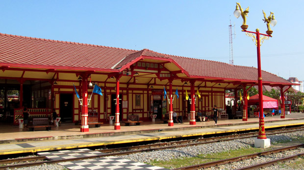 вокзал в Хуа Хине
