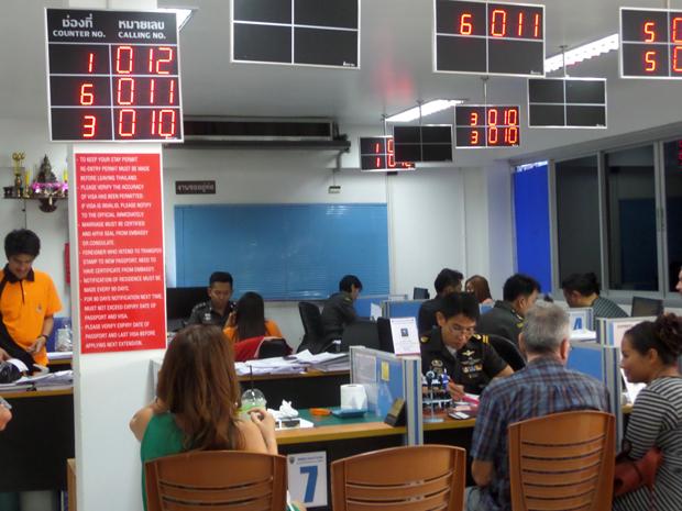 продление визы в Хуа Хине