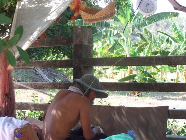 Бездомные в Таиланде