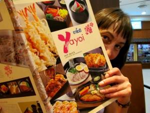 ресторан Yayoi