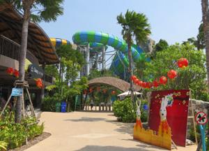 аквапарк в Хуа Хине