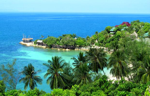 сеукретный пляж на пангане