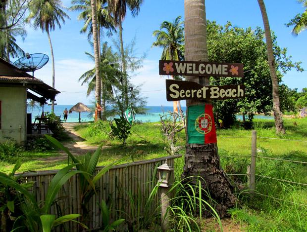 секретный пляж на пангане