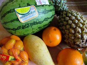 фрукты в Таиланде