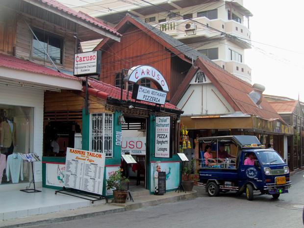 улицы в Хуа Хине