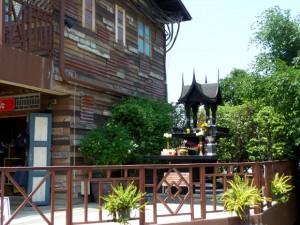 винтажная деревня в Хуа Хине