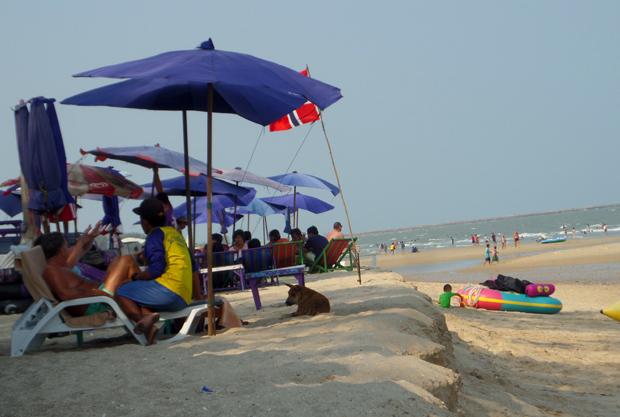 пляж в Ча аме