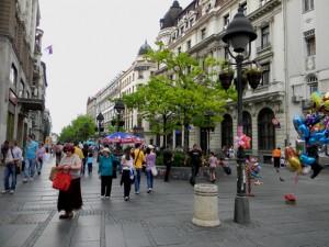 улица Князя Михаила в Белграде