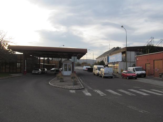 терминал на границе