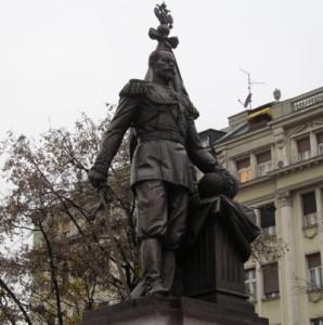 памятник русскому царю