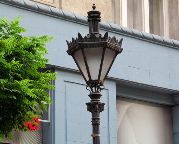 фонарь в Будапеште