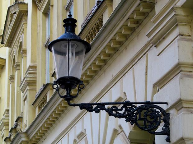 фонарь в Братиславе