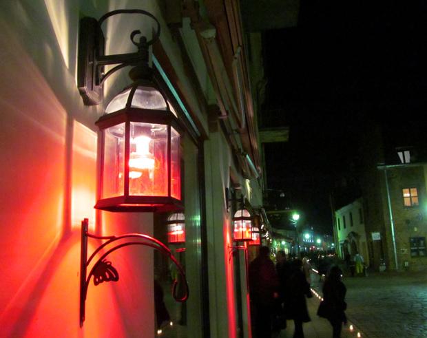 фонарь в Каунасе