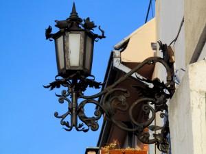 фонарь в Европе