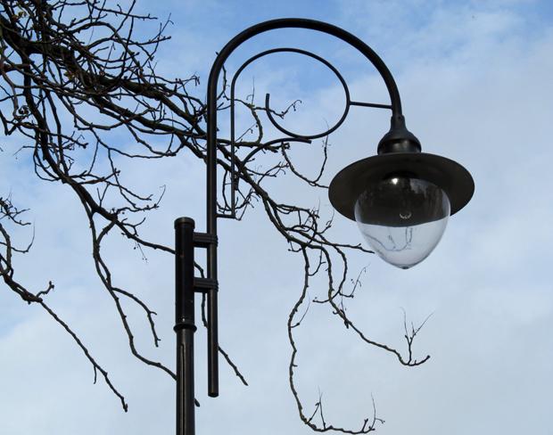 фонарь в Лиепае
