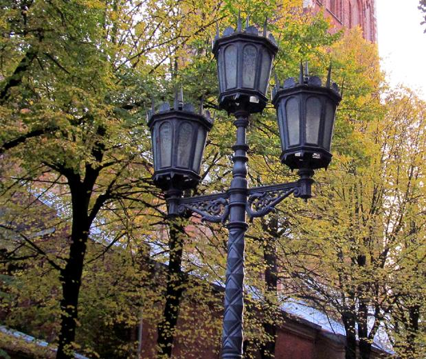 фонарь в Риге
