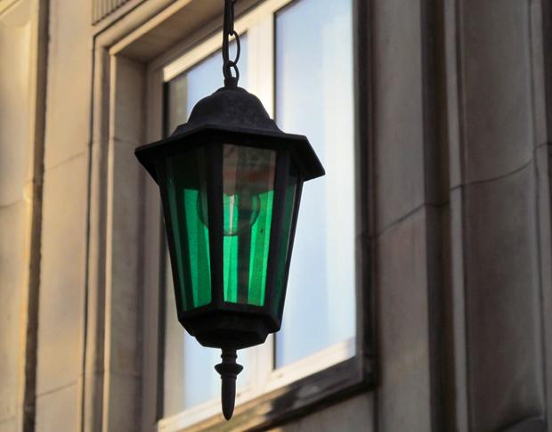фонарь в Варшаве