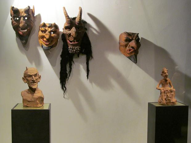 маски чертей