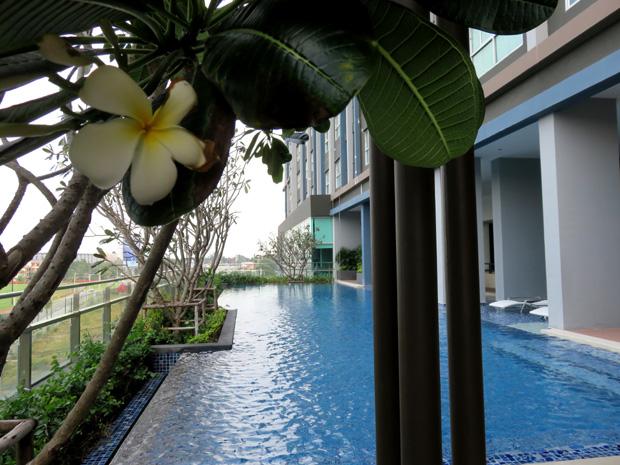 бассейн на пятом этаже