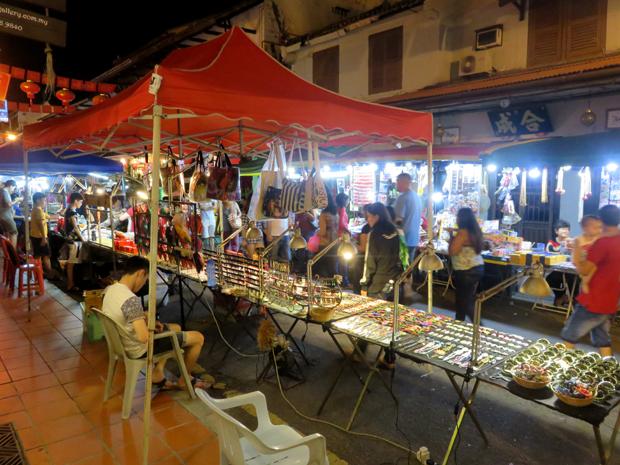 ночной рынок в малакке