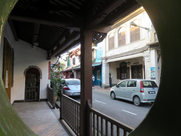 старая улица в малакке