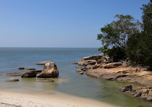 пляж черепах на пенанге