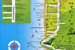 карта курорта Као Лак
