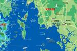 подробная карта Краби