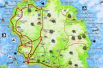 подробная карта Ко Панган