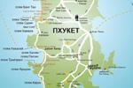 подробная карта Пхукета