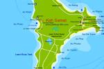 подробная карта Самета