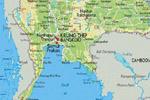 подробная карта Таиланда