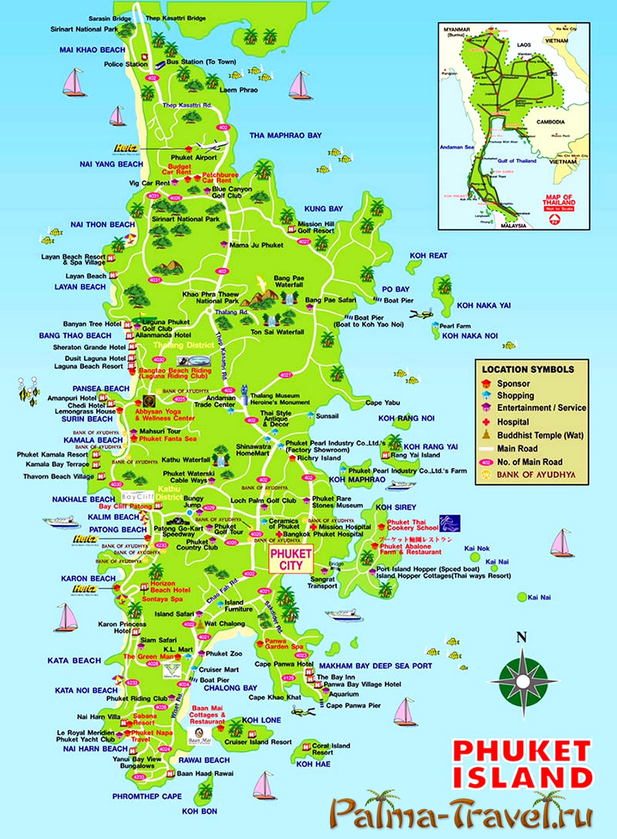 фото карта пхукет